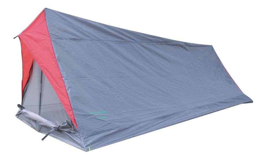 Палатка Green Glade Minicasa (Minilite) двухместная голубая/красная