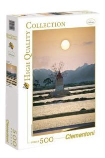 Пазл Clementoni Итальянские соляные поля 500 элементов фото