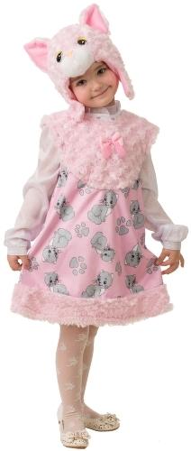 Карнавальный костюм JEANEES Кот, цв. розовый р.104