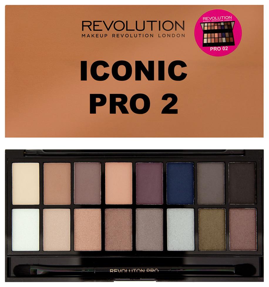 Тени для век Makeup Revolution Iconic