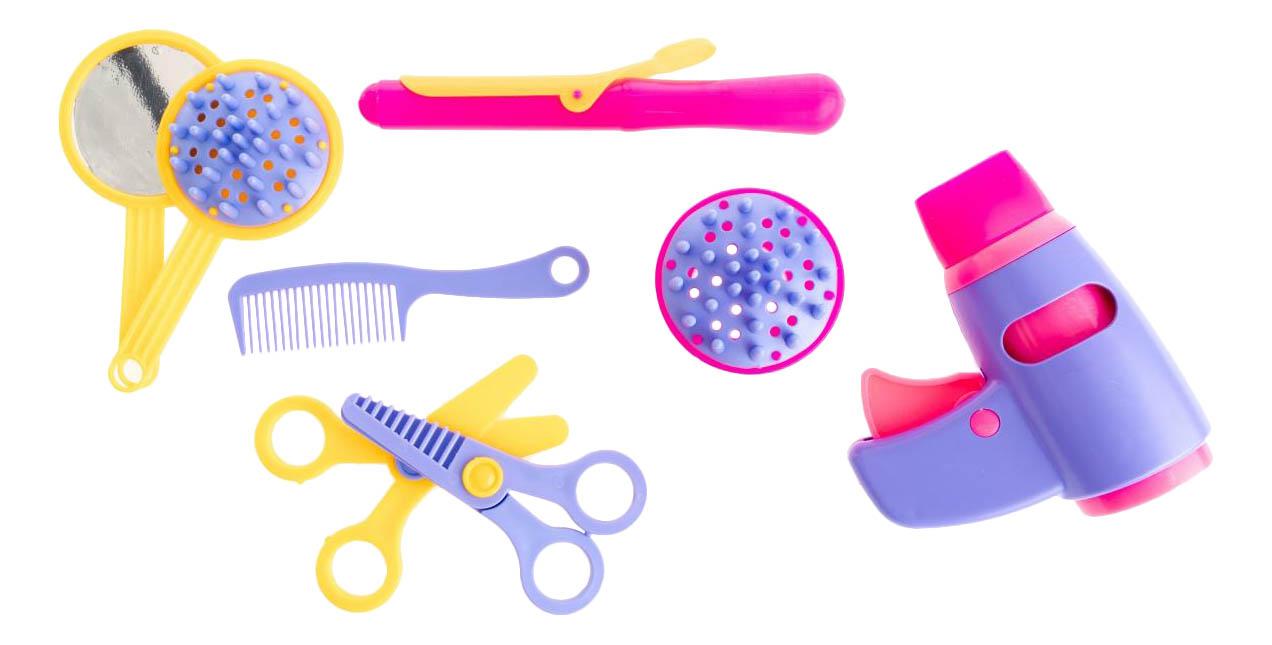 Купить Набор парикмахера игрушечный Пластмастер Красотка, Детские наборы парикмахера