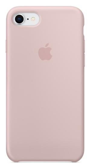 Кейс для Apple iPhone 8 / 7 Silicone Case Pink Sand (MQGQ2ZM/A)