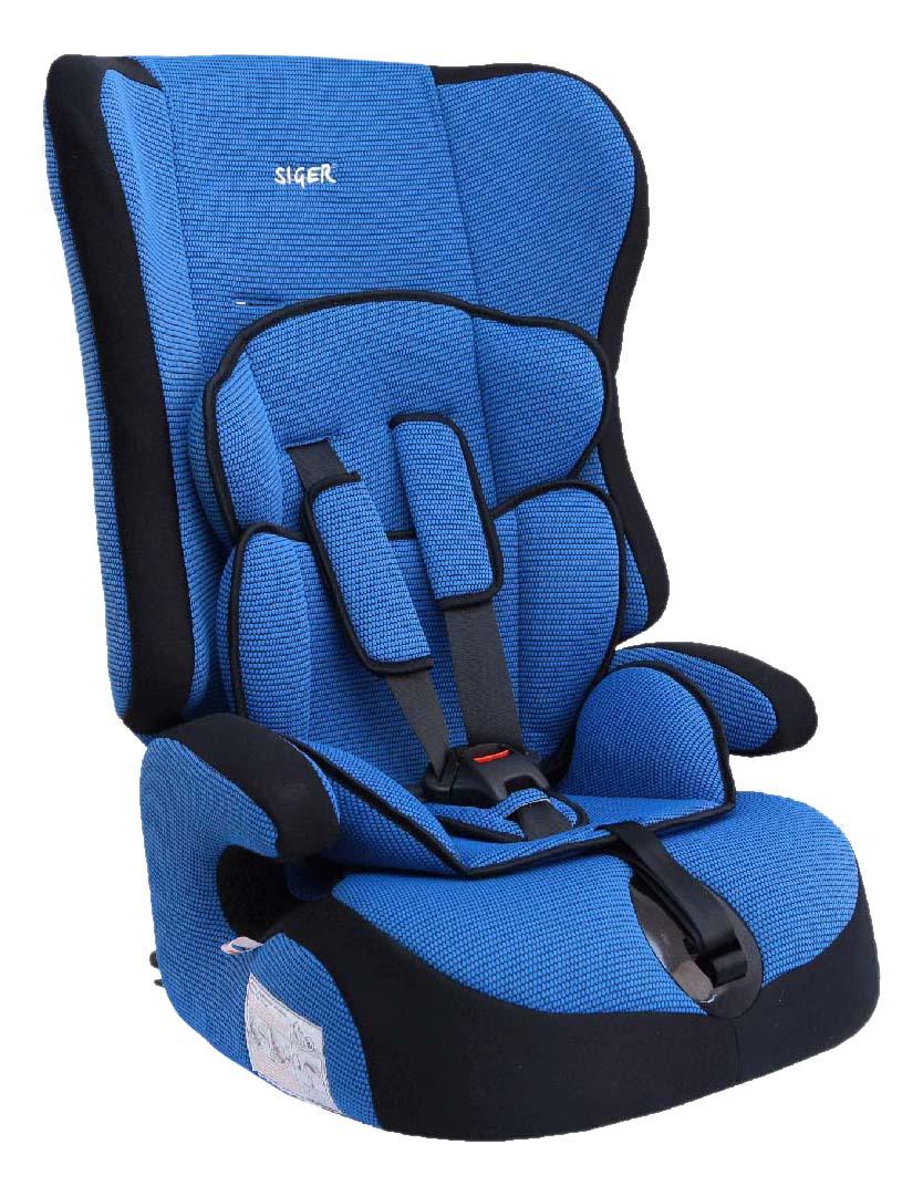 Автокресло Прайм синее от 9 до 36 кг SIGER KRES0005