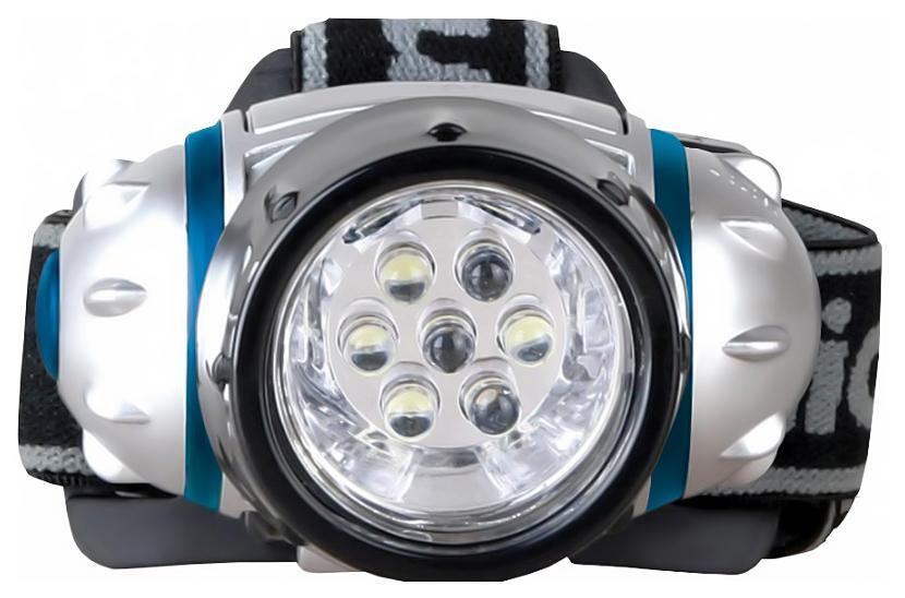 Туристический фонарь Camelion 5310-7F3 серебристый, 3 режима
