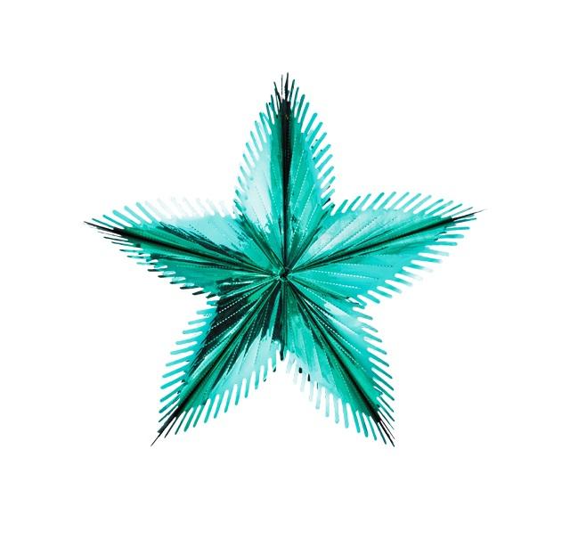 Звезда из фольги Holiday Classics Полярная 60 см мятная H241001T фото