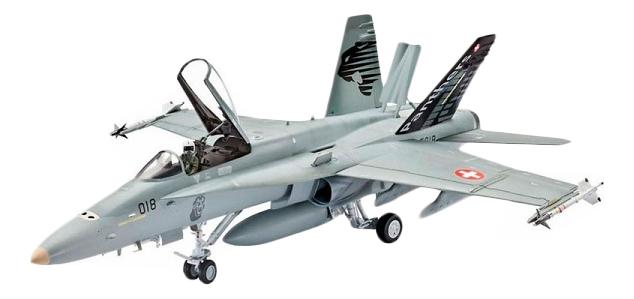 Купить Сборная модель Истребитель-бомбардировщик F/A-18C Hornet Revell 64894, Модели для сборки