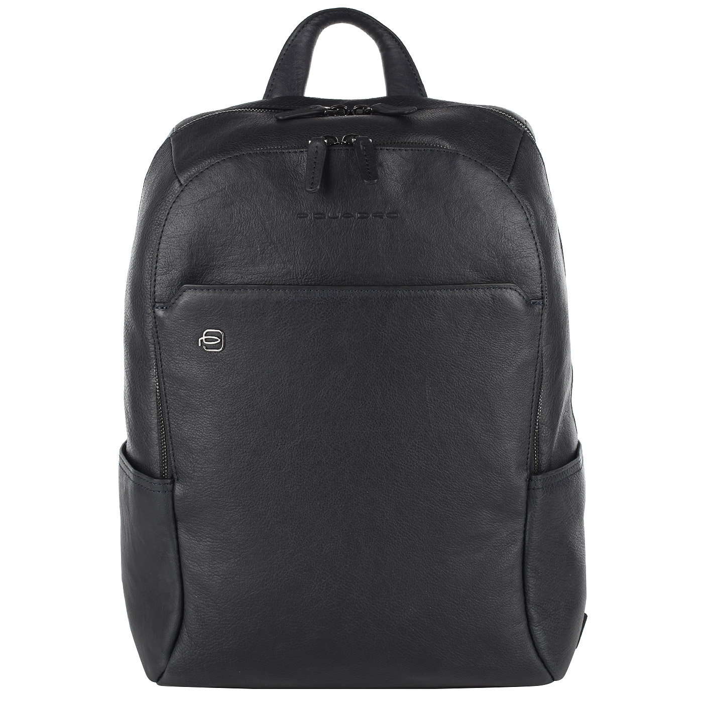 Рюкзак кожаный Piquadro Black Square синий 11 л