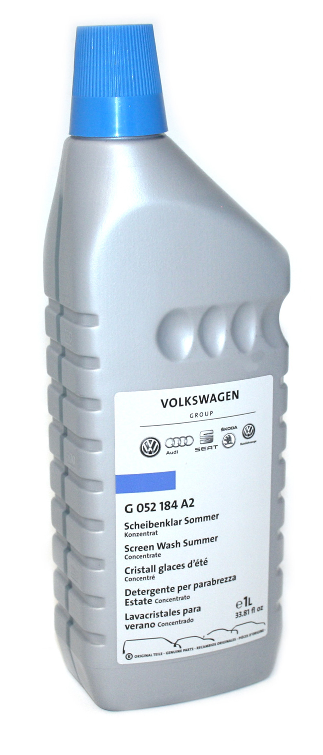 Жидкость стеклоомывателя летняя VAG 5°C 1л G052184A2