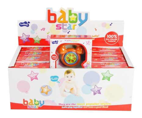 Купить Набор погремушек baby star 12 шт Н54210, Набор погремушек Baby Star 12 шт Gratwest Н54210,