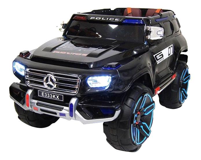 Электромобиль Mercedes черный RIVERTOYS