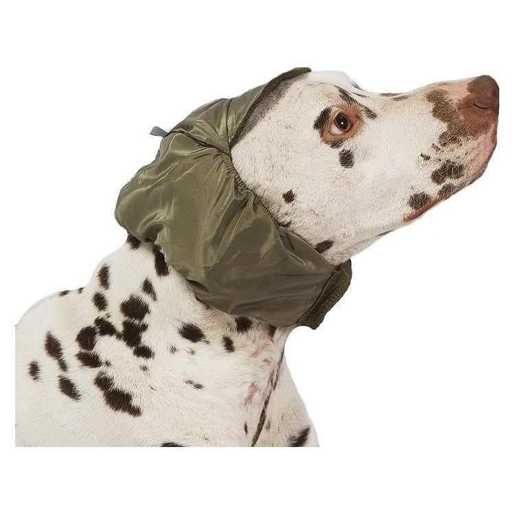 Шапка для собак ТУЗИК №5 теплая, плащевка, флис