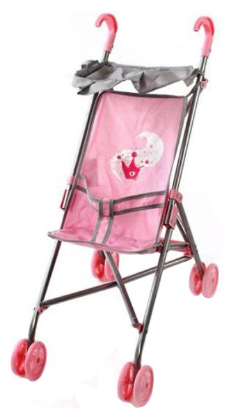 Купить Коляска-трость Корона с тентом 52х26х55 см 67213 для кукол Mary Poppins, Коляски для кукол