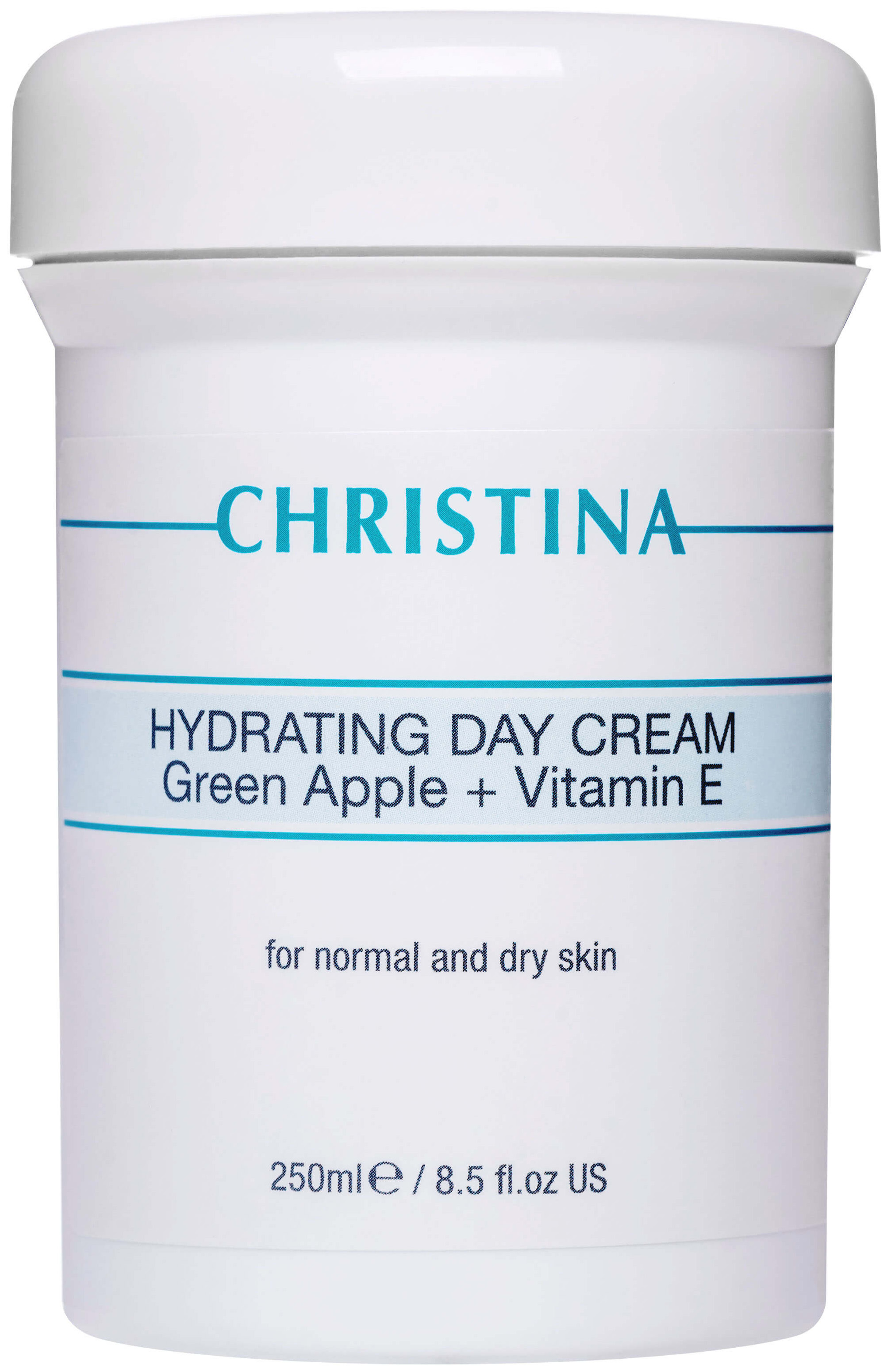 Крем для лица Christina Hydrating Day Cream Green Apple + Vitamin E 250 мл фото