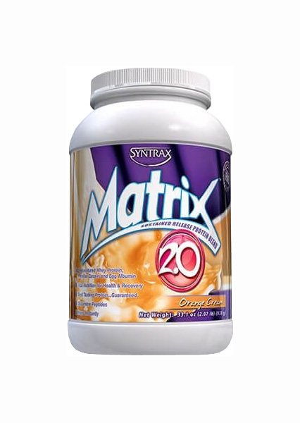 Протеин Syntrax Matrix 2.0 907 г апельсиновый