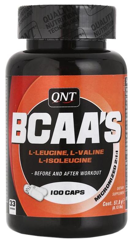 BCAA QNT BCAA'S 100 капс.