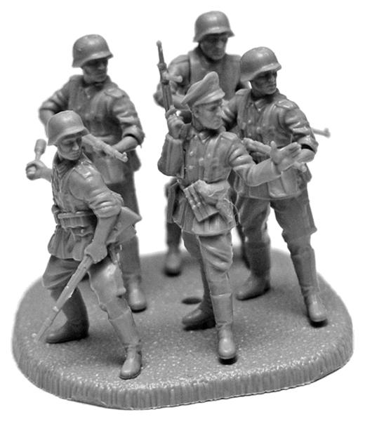Купить Немецкая кадровая пехота 1939-1943, Модели для сборки Zvezda Немецкая кадровая Пехота 1939-1943