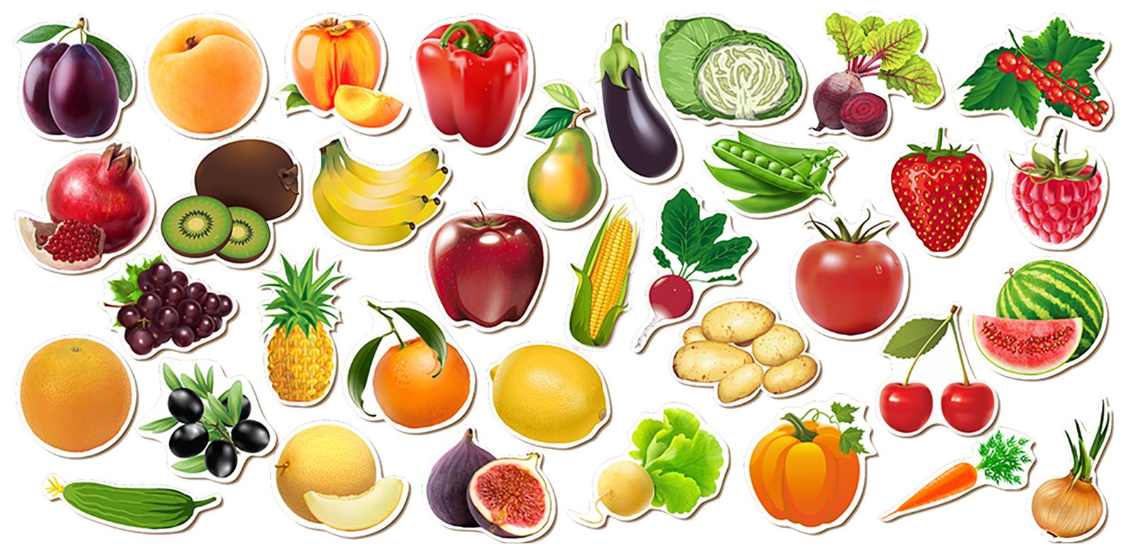 Пазл Сибирский сувенир Овощи, фрукты, ягоды 111401