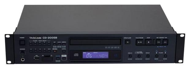 CD проигрыватель Tascam CD 200SB Black