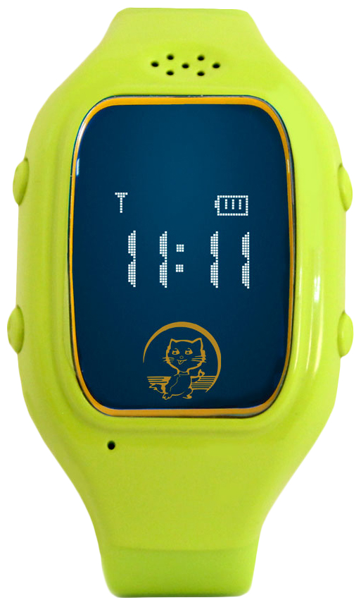 Детские смарт-часы Ginzzu GZ-511 Green/Green