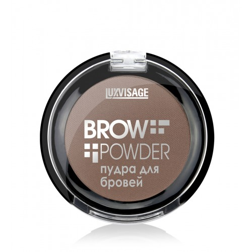 Пудра для бровей Luxvisage Brow Powder тон 2 Soft Brown фото