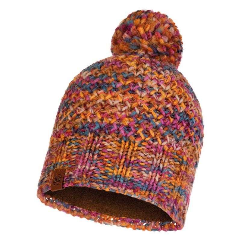Шапка Buff Knitted&Polar Hat Margo разноцветная