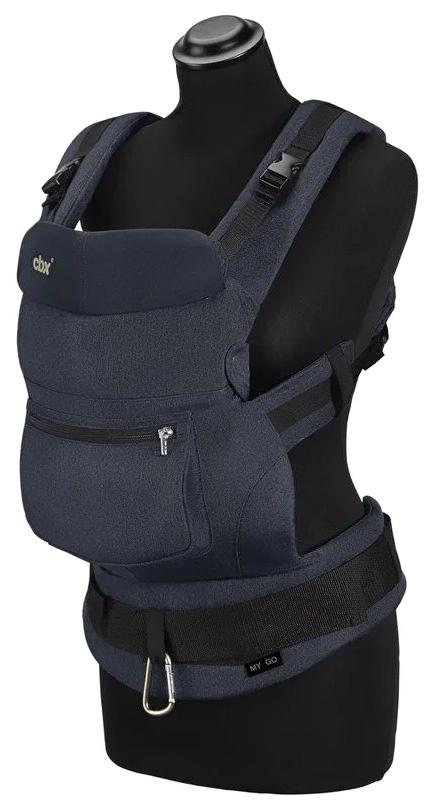 Cbx рюкзак переноска my.go jeansy blue