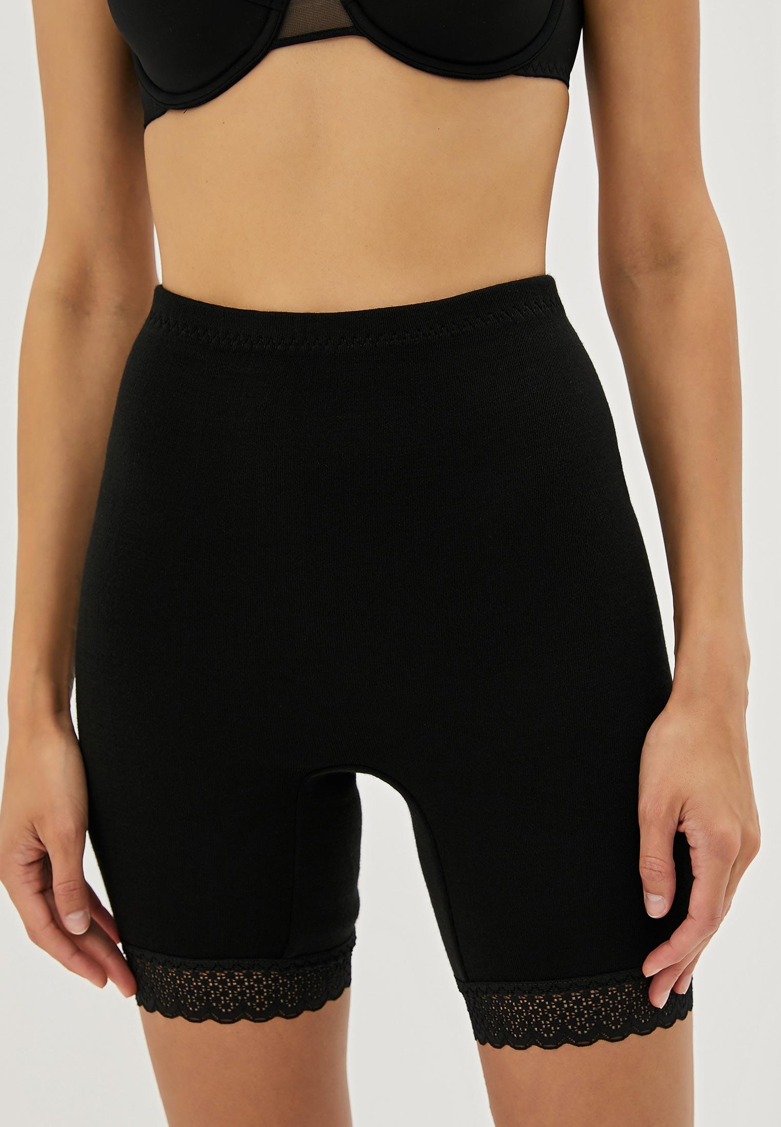 Панталоны женские НОВОЕ ВРЕМЯ T010 черные 58 RU
