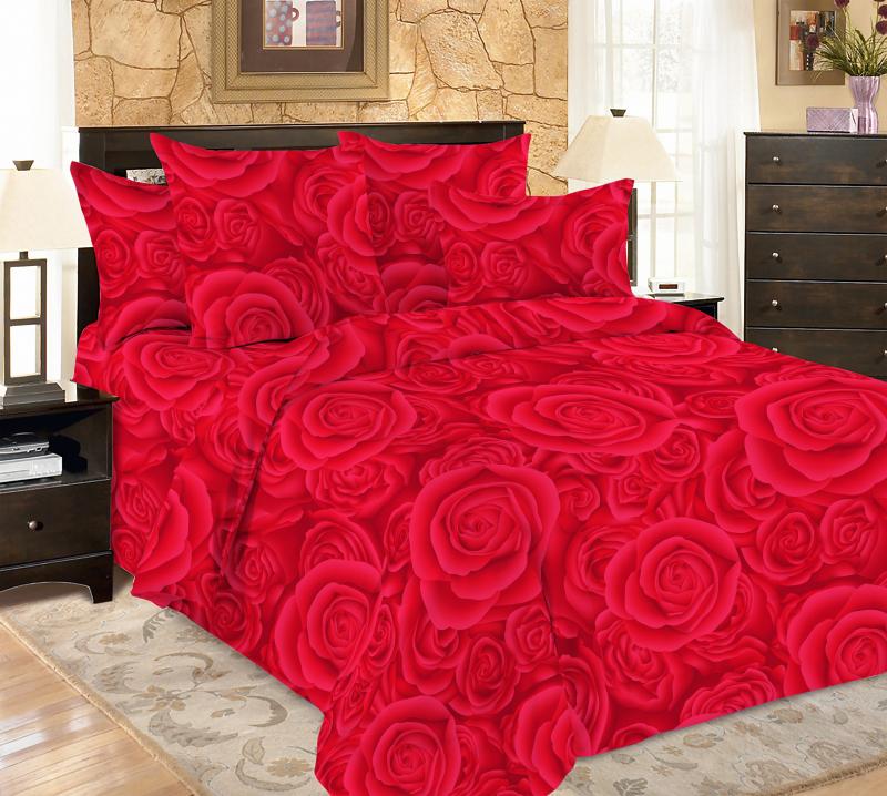 Постельное бельё Amore Mio Мако-сатин Deep Микрофибра 1,5 спальный