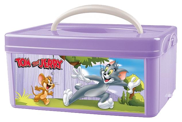 Ящик для хранения игрушек Tom and jerry фиолетовый фото