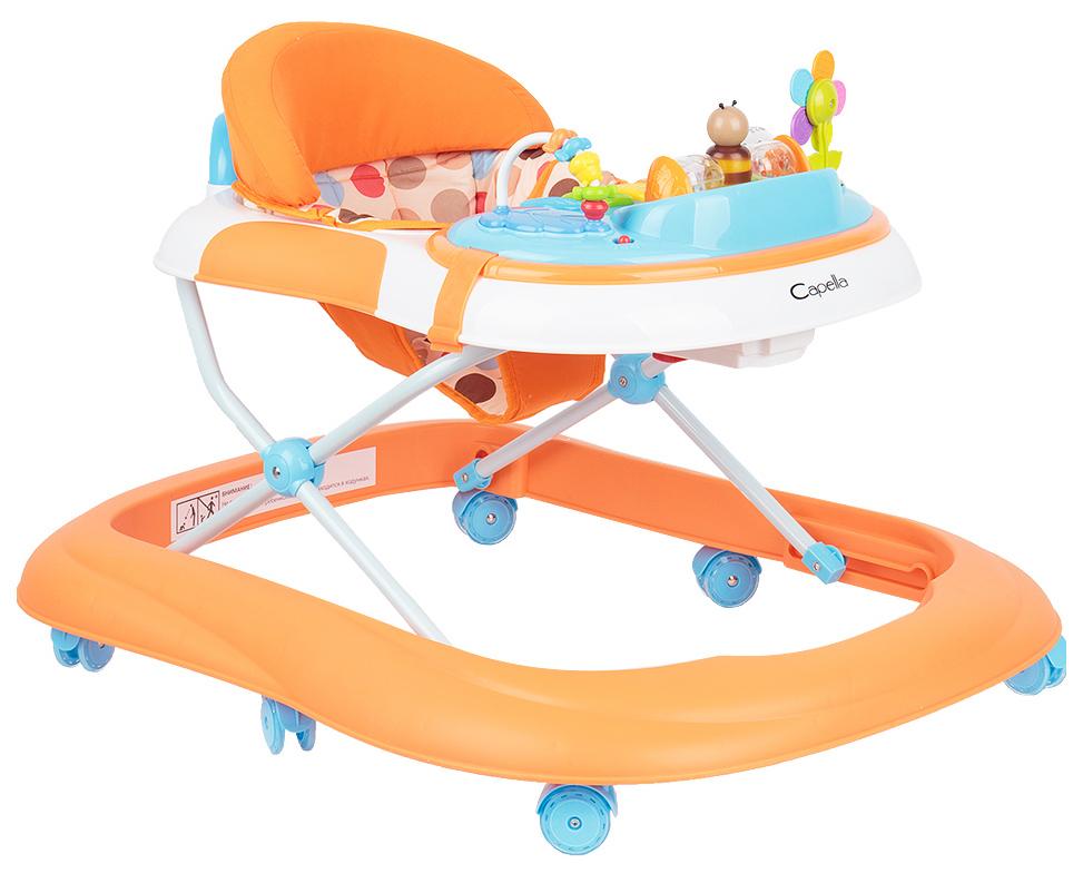 Купить Ходунки Сapella Go! 1121 (оранжевый), Capella, Ходунки детские