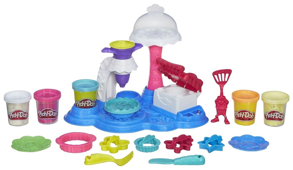 Купить PLAY-DOH. ПЛЭЙ-ДО Набор игровой Сладкая вечеринка, Наборы для лепки Play-Doh