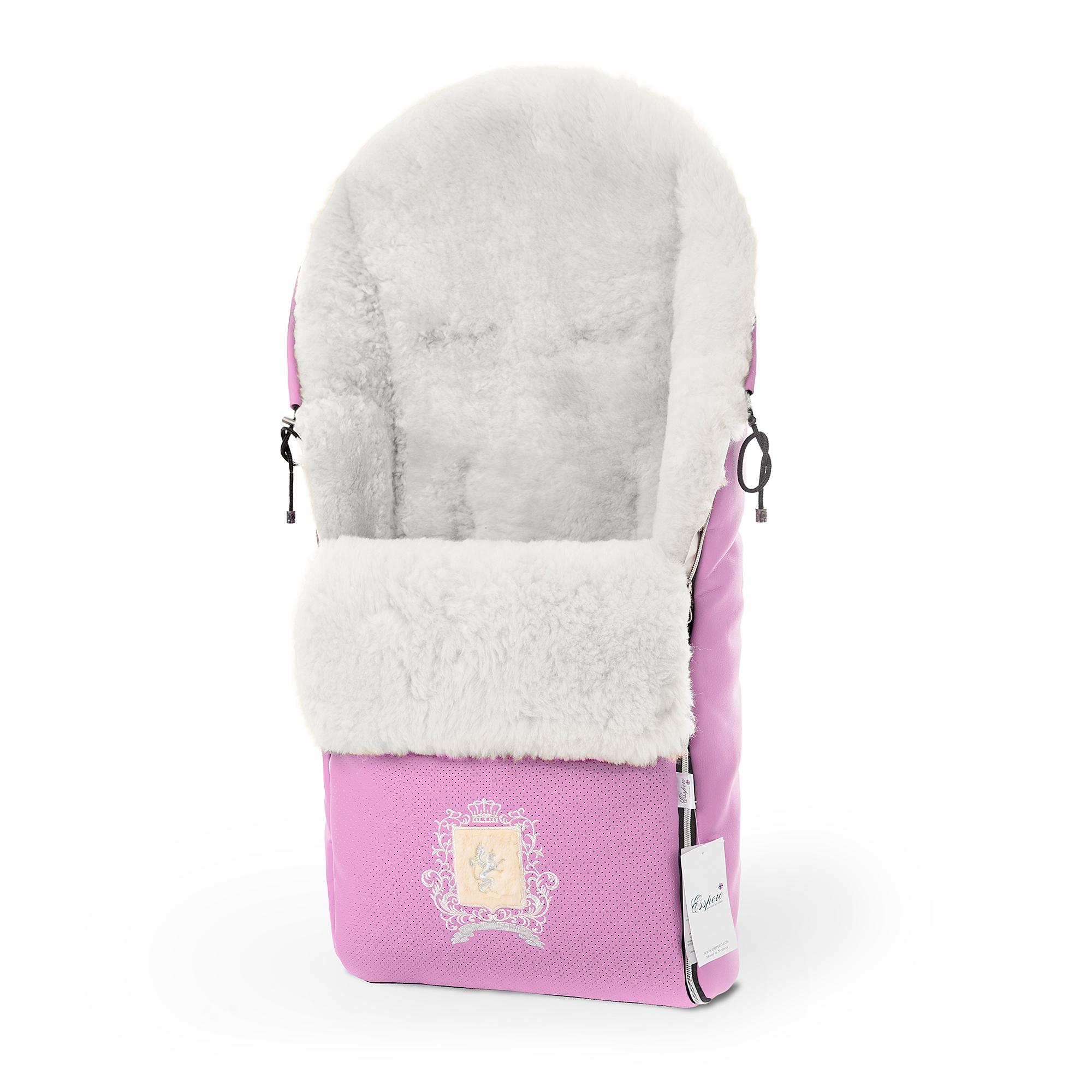 Купить Конверт в коляску Esspero Queenly Pink,
