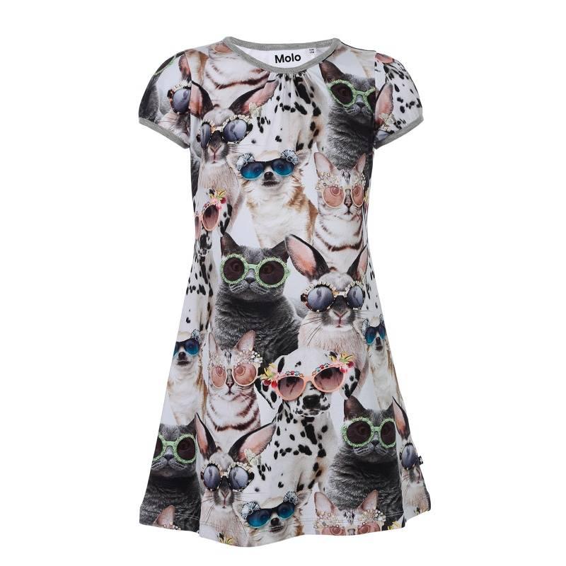 Купить Платье Camellia Molo, цв. бежевый, 140 р-р, Детские платья и сарафаны