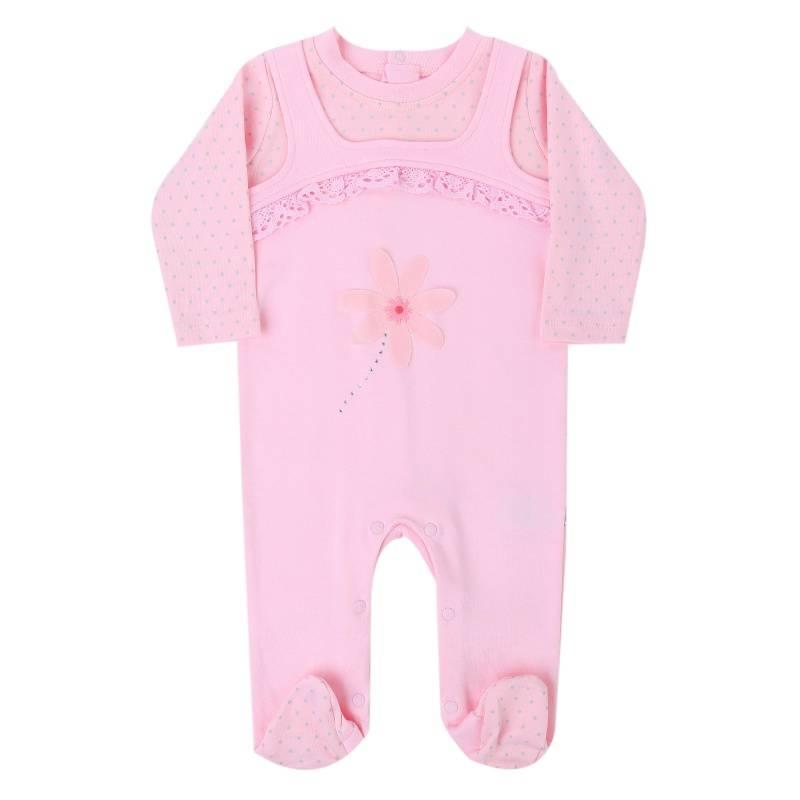 Купить Комбинезон BIBABY, цв. розовый, 68 р-р, Повседневные комбинезоны и полукомбинезоны для девочек