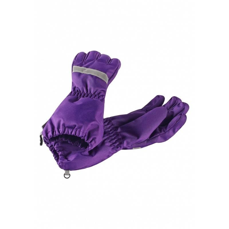 Перчатки LASSIE, цв. фиолетовый, 4 р р