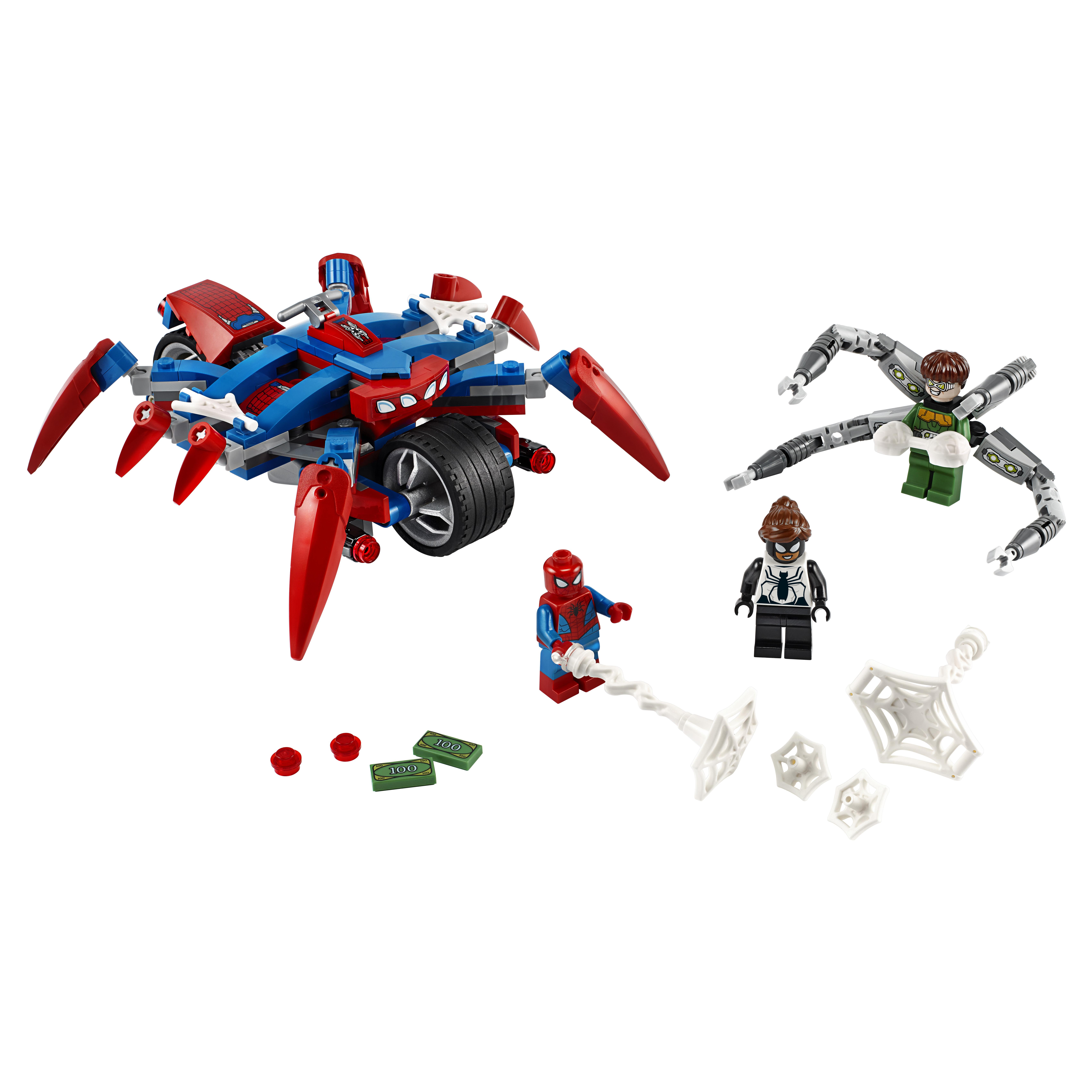Конструктор LEGO Marvel Super Heroes 76148 Человек-Паук против Доктора Осьминога