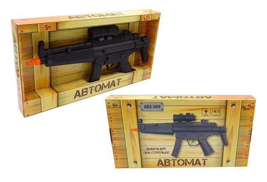 Купить Автомат, световые и звуковые эффекты., ABtoys, Стрелковое игрушечное оружие