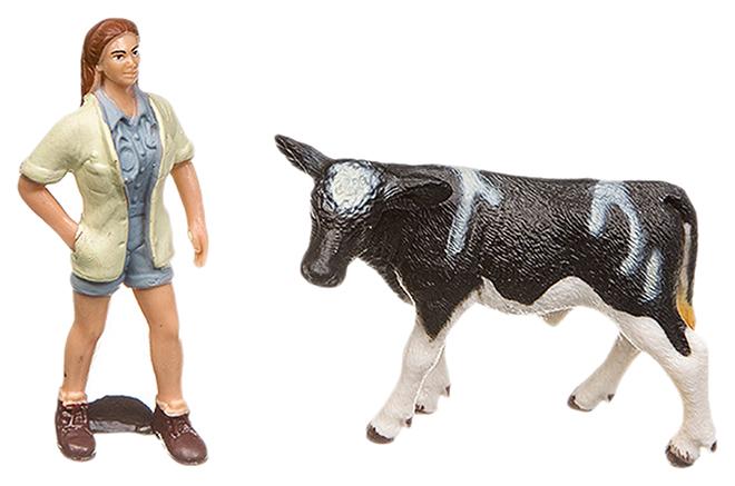 Купить Игровой набор Yako Toys Фигурка С Животным Серия Мир Вокруг Нас Арт.M7593-11.,