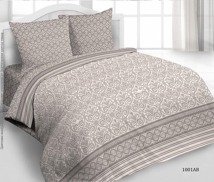 Комплект постельного белья Avrora Texdesign Бязь Люкс 1001, евро