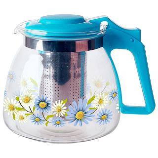 Чайник заварочный ALPENKOK АК-5513/4A с фильтром 900 мл ( 36 )