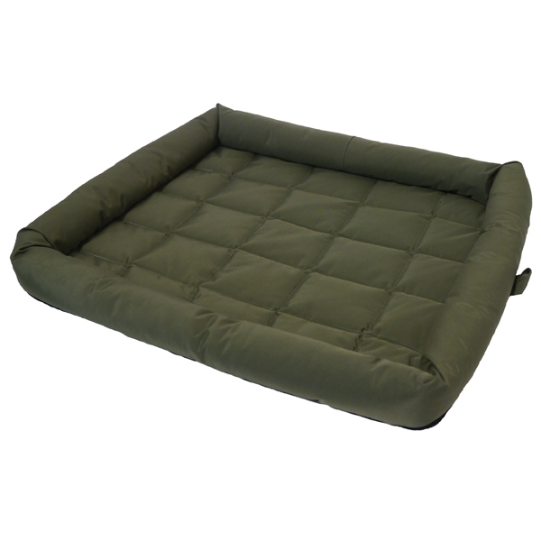 Матрас для собак Rosewood, водонепроницаемый, зеленый, 75х56х6 см