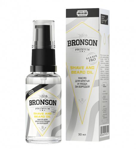 Масло для бритья и ухода за бородой Bronson