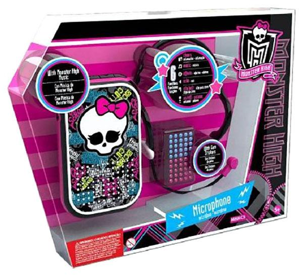 """Музыкальный набор """"Monster High"""", с микрофоном и динамиком Intek"""
