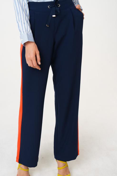 Брюки женские TOM TAILOR 1009118 синие M фото