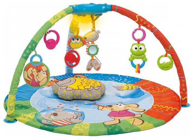 Игровой музыкальный коврик Chicco Bubble Gym