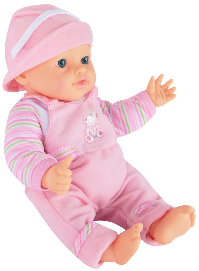 Игруша Кукла-Пупс (12 см) (на бат) в одежде, мягконабивное тело ES-1256-13