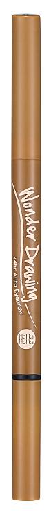 Карандаш для бровей Holika Holika Wonder Drawing 24hr Auto Eyebrow 03 Light Brown 2 г фото