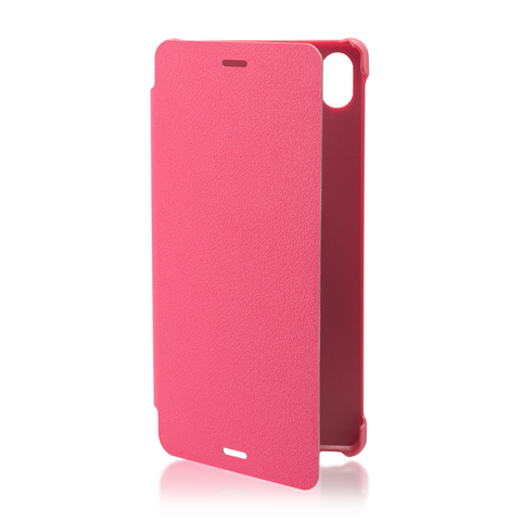 Чехол Brosco Cover для Sony Xperia Z3 розовый