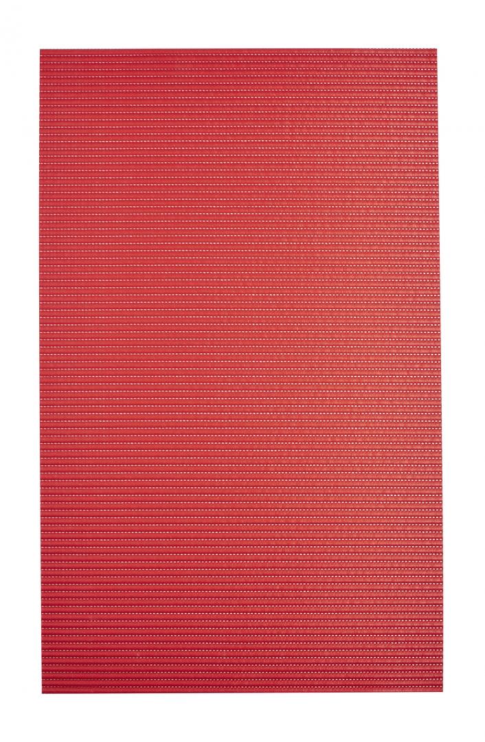 Коврик из вспененного ПВХ Standard красный 50*80