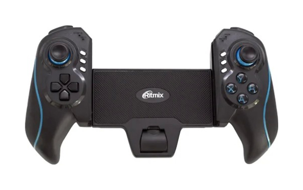 Геймпад Ritmix GP 051BTH Blue/Black